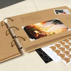 A4 ring binder Photo Album Kraft scrapbook Wedding Album Scrapbook Wedding Guest Book -- Learn more by visiting the image link. #HomeDecor