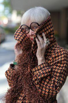 pretaportre:    Ari Seth Cohen of Advanced Style photographs Rita Ellis Hammer in Springtime in New York.