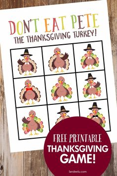 Print this fun Thanksgiving Game to keep the kids entertained while you're getting dinner on the table! Don't Eat Pete the Thanksgiving Turkey! Fun Thanksgiving Games, Thanksgiving Turkey, Busy Book, Fun Activities For Kids, Cool Diy Projects, Cute Quotes, Teaching Kids, Entertaining, Rainy Days