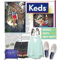 """Make it a Date with Keds"" by rachel on Polyvore"