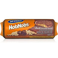 McVitie's HobNobs© Dark Chocolate. Our delicious HobNobs biscuits are topped with a rich coating of decadent dark chocolate. Available across Canada.