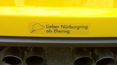 """Better Nürburgring than Wedding Ring"""