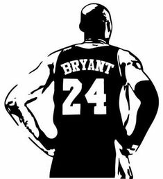 Kobe Mamba Out #24 Bryant Gaming Mouse Pads Non-Slip Rubber Base Square Mat for Desktops Computer Laptops