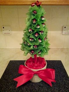Chocolate Ball 'Christmas' Sweet Tree