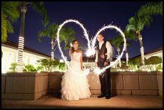 Janelle and Phil Preview - Richard Nixon Library - Los Angeles Wedding Photography