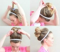 Pimp up a Top Knot with a Headband