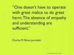 Empathy could cure the world