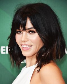 Jenna Dewan Tatum | bob with bangs