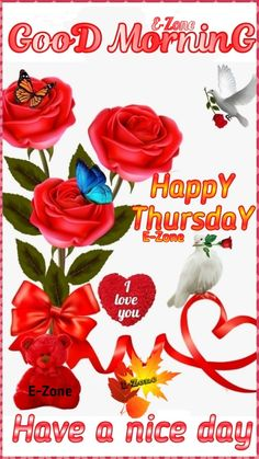 Good Morning Thursday, Rose, Happy, Flowers, Prints, Pink, Ser Feliz, Roses, Royal Icing Flowers