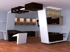 modern kitchen 2 free 3d model ready for cg projects available formats 3d