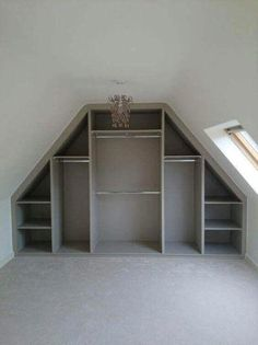 The attic closet design ideas we found might just be the extra push you need to . The attic closet design ideas we found might just be the extra push you need to organize your attic and put it into practical use. See betterthathome.