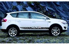 Racing Stripes vinyl body decals graphics logo High Quality for FORD KUGA Racing Stripes, Logo Sticker, Car Ford, Vinyl, Best Deals, Etsy, Adhesive, Decals, Graphics