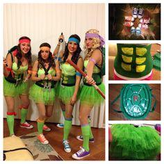ninja turtles costume DIY