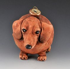 vintage style Dachshund ornie/ small by uncommoncreatures on Etsy, $50.00