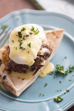 Greek style egg benedict recipe makes the perfect breakfast to start the day!