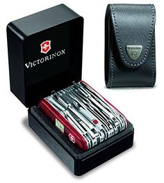 "Victorinox Swiss Army SwissChamp XAVT-- I wanted to write that it comes with all the ""Bells & Whistles"", but is doesn't come with a bell or a whistle. No ""Kitchen Sink"" either…"