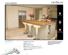 Pinning for the dishcloth storage option - Optiplan Kitchens