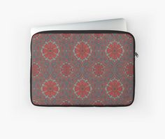 """""""""""Scarlet flower"""" """" Laptop Sleeves by clipsocallipso 