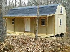 Backyard outfitters storage sheds portable buildings for Affordable barns and garages