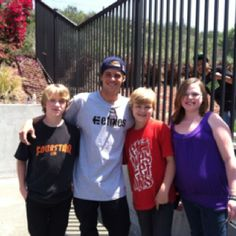 Ryan Sheckler, it seems, is actually a pretty good role model, very nice young man