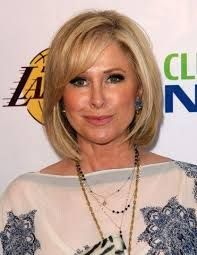 Image result for blonde bobs over 50