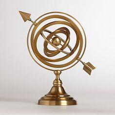 Armillary Sphere | World Market, $39.99
