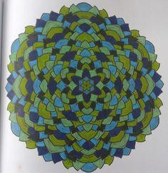 Coloring book het enige echte mandala kleurboek