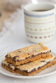 Recipe for simple Magic bars (Sue Lawrence's Anta bar recipe)