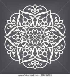 Find Circular Pattern Mandala Round Vector Ornament stock images in HD and millions of other royalty-free stock photos, illustrations and vectors in the Shutterstock collection. Stencil Patterns, Stencil Designs, Pattern Art, Embroidery Patterns, Pattern Design, Mandala Pattern, Stencils, Stencil Painting, Mandala Art