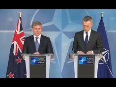 Press Statements: Jens Stoltenberg & Bill English