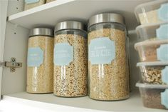 Pantry Pretty: Dollar Store Pantry Makeover