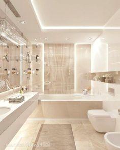 Modern Luxury Bathroom, Bathroom Design Luxury, Bathroom Designs, Bathroom Ideas, Teenage Girl Bathrooms, Rustic Bathroom Shelves, Design Moderne, Master Bathroom, Bathroom Bath