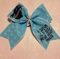 Hey, I found this really awesome Etsy listing at https://www.etsy.com/listing/176347594/cinderella-cheer-bow