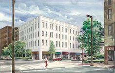 downtown loft building images | Blach's Building Lofts - Loft District Birmingham, Alabama