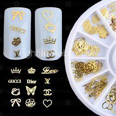 1pcs nagel sieraden decoratief draaischijf nagel gereedschap (stijl willekeurige) 2017 - $1.99