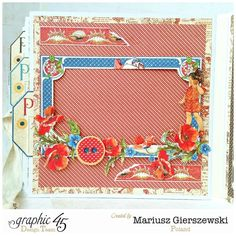Brilliant 4 seasons album with Children's Hour by Mariusz - the Summer pages #graphic45