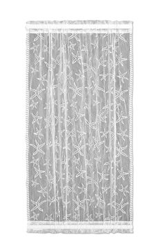 Heritage Lace Starfish Collection - Curtains, Runners, Shower Curtain, Material, etc