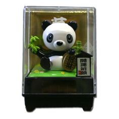 Mini Lucky Panda Solar Powered Relaxation Toy