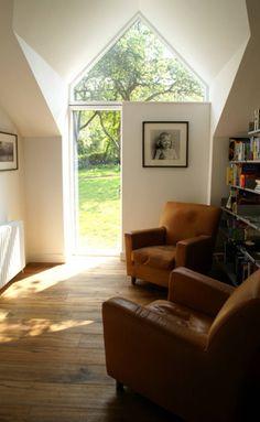 Escritórios campestres por Hall + Bednarczyk Architects