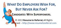 Resume Tool Box - Find your super hero powers
