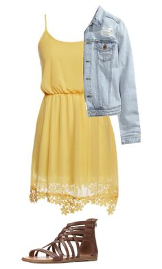 """""""Caroline Forbes inspired outfit"""" by rrikerlynchr ❤ liked on Polyvore featuring H&M and Charlotte Russe"""