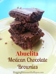 Sweet & Spicy – Abuelitas Mexican Chocolate Brownies