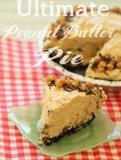 Half Baked: Ultimate Peanut Butter Pie