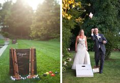 Lawn Games | After Yes – Dallas Wedding Planner Blog
