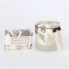 Wildflower & Honey Gift Set. Most lovely packaging, most lovely hostess gift.