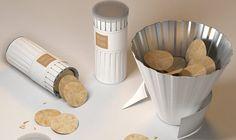 Criado pelo designer Dohyuk Kwon, a Bloom Chips é um conceito de embalagem para facilitar o consumo das batatas chips...