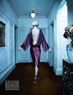 Elisabeth Erm by Emma Summerton for Vogue Germany April 2014