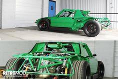 Green With Envy: V8-powered Porsche 914 — RETROMOD