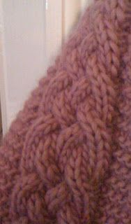 lucreciasroom: Annie - pattern for cabled scarf