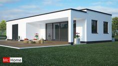 Mc Home.nl B8 Gelijkvloerse Bungalow Alles Slaapkamer En Badkamer Beneden  Staalframebouw Moderne Bouw